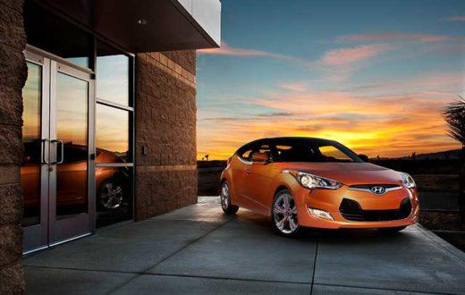 Hyundai Veloster 2012, nuevo cupé de tres puertas