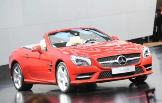 Auto Show de Detroit 2012: Mercedes- Benz SL 2013, más vivo que nunca