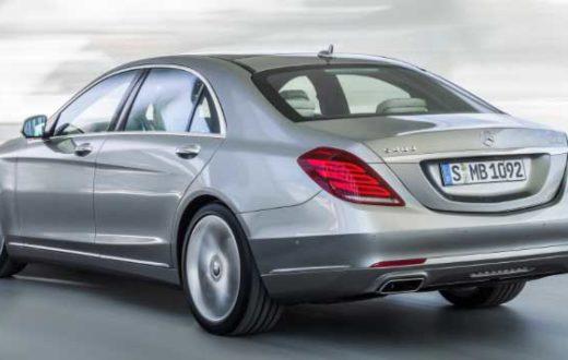 Mercedes-Benz S400 Hybrid pasea por el Ritz-Carlton