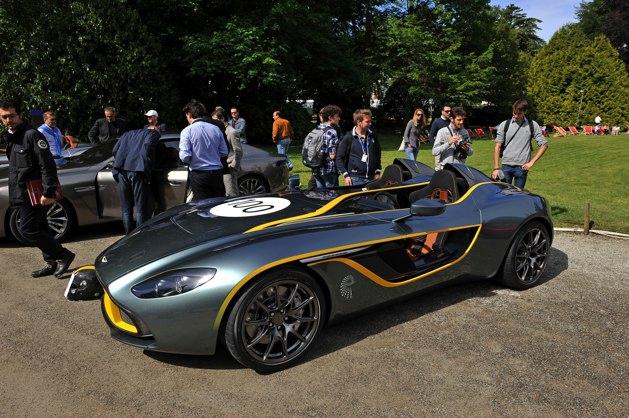 Aston Martin CC100 Speedster Concept Concorso d'Eleganza Villa d'Este
