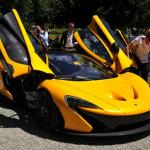 McLaren P1 en el Concorso d'Eleganza Villa d'Este