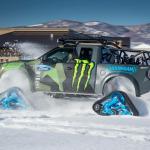 Ford F-150 RaptorTRAX el nuevo juguete de Ken Block