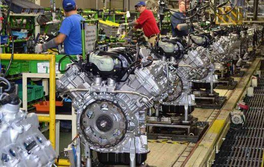 Toyota Alabama fabricó el motor número 5 millones