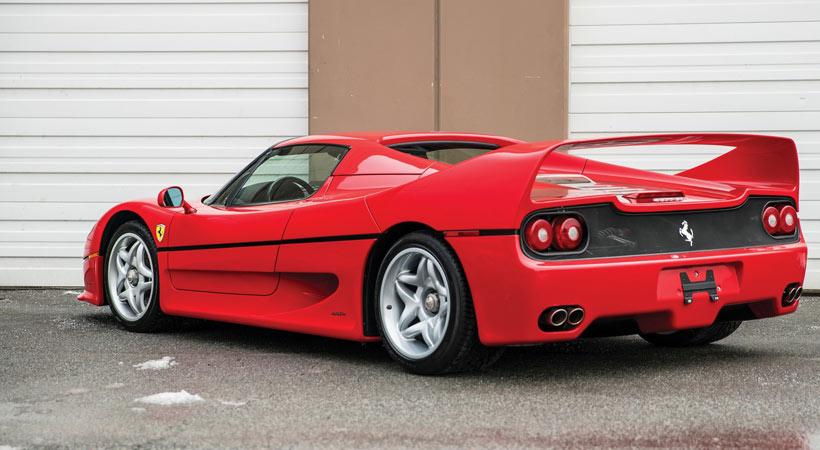 Ferrari F50 1995 que fuera de Mike Tyson