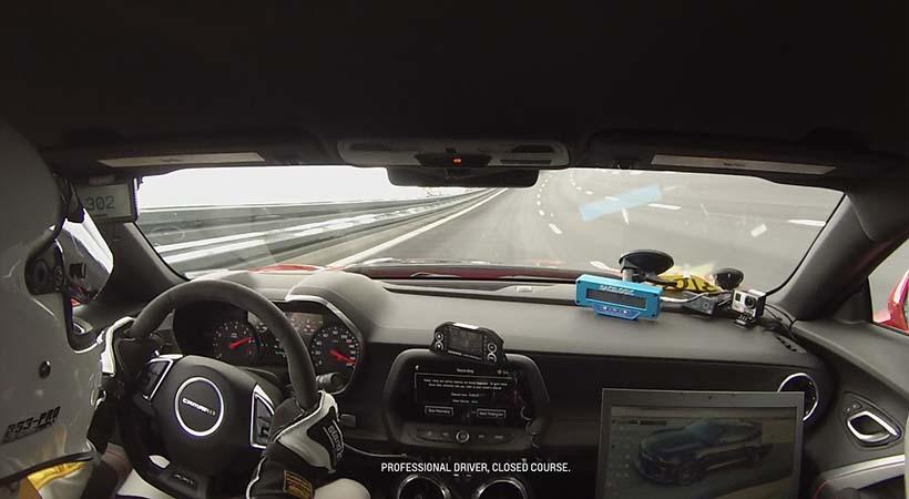 Chevrolet Camaro ZL1, Nuevo Récord En Alemania