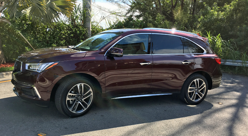 acura mdx awd 2017 la suv perfecta para un viaje en familia. Black Bedroom Furniture Sets. Home Design Ideas