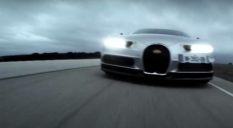 Test Drive Bugatti Chiron 2017