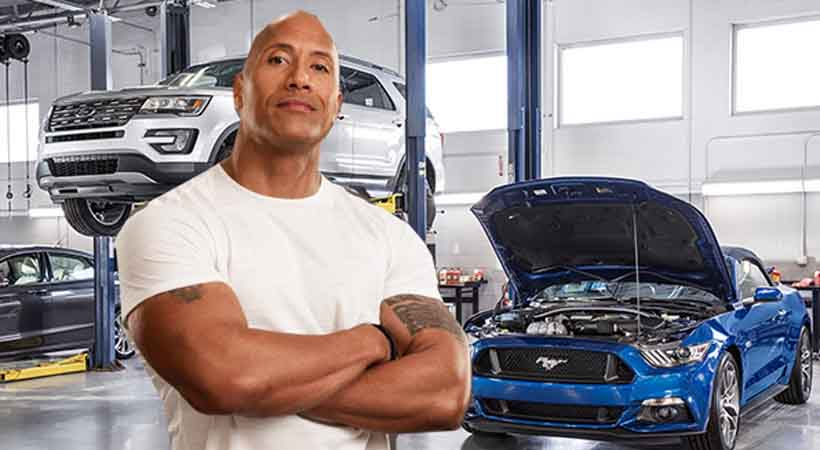 Dwayne Johnson Hace Equipo Con Ford