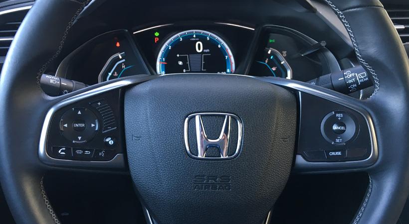 Test Drive Honda Civic Hatchback 2017