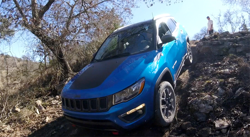 Test Drive Jeep Compass 2017 off-road extremo en Texas