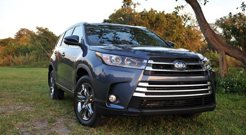Toyota Highlander Hybrid Limited Platinum AWD 2017
