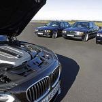 5 generaciones BMW Serie 7 con motor V12