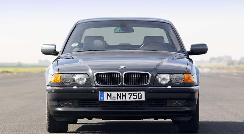 5 generaciones BMW Serie 7 con motor V12, lujo y potencia