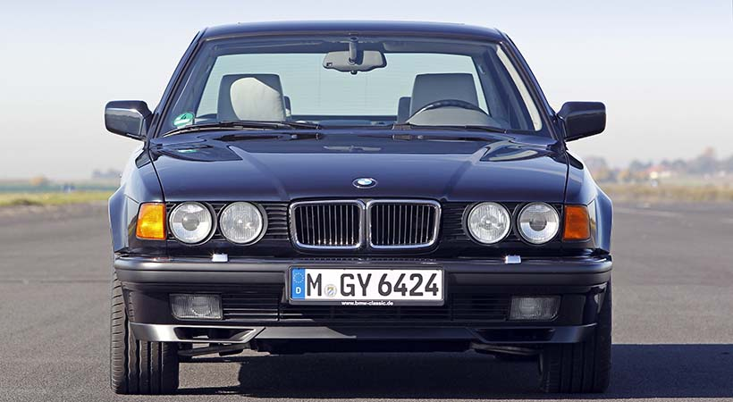 5 generaciones BMW Serie 7