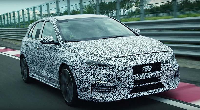 Test Drive Hyundai en el legendario Nürburgring