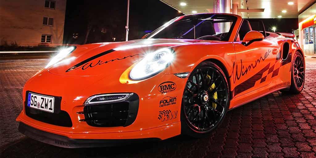 Porsche 911 Turbo S Cabrio Powerkit Por Wimmer