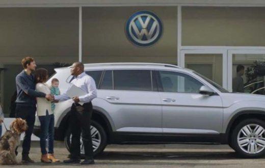 Luv Bug, Primer Comercial de TV de Volkswagen Atlas