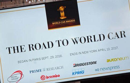 Finalistas Auto Mundial del Año 2017