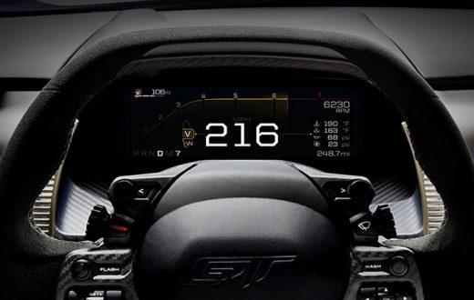 5 modos de manejo del Ford GT