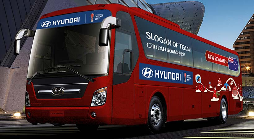 Be There with Hyundai, Copa Confederaciones Rusia 2017