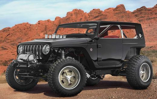 prototipos Jeep Mopar para el Easter Jeep Safari 2017