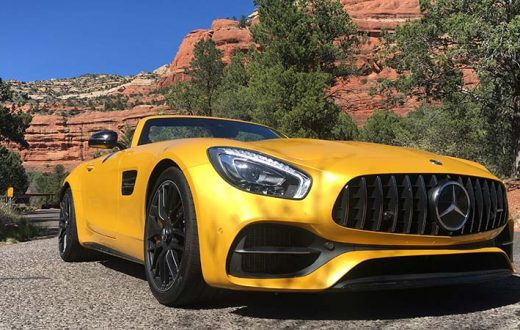Test Drive Mercedes-AMG GT C Roadster 2018