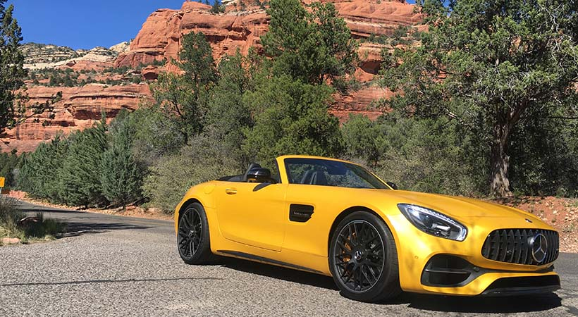 Test Drive Mercedes-AMG GT C Roadster