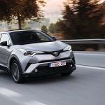 Toyota C-HR 2018 5 estrellas en seguridad Euro NCAP
