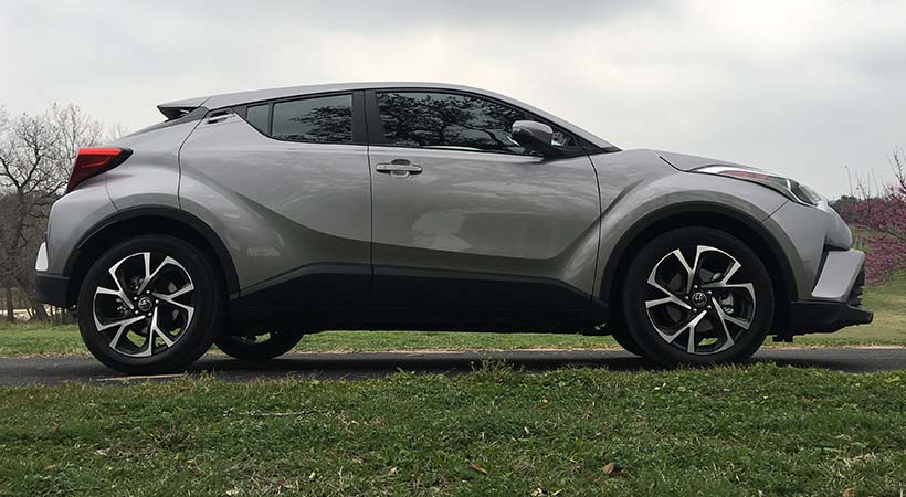 Test Drive Toyota C-HR 2017