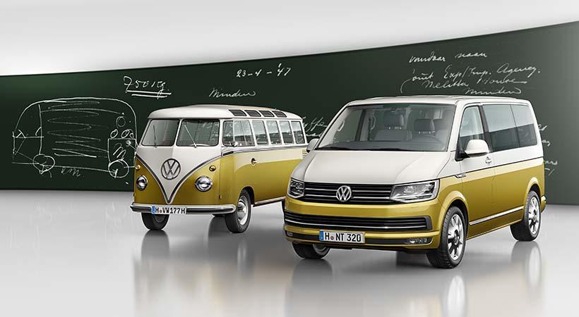 Volkswagen Bulli Edición Especial 70 Aniversario