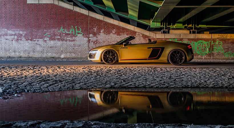 Audi R8 V10 Spyder 2017 por Fostla.de