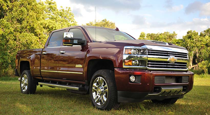 Chevrolet Silverado 2500 High Country AWD 2017