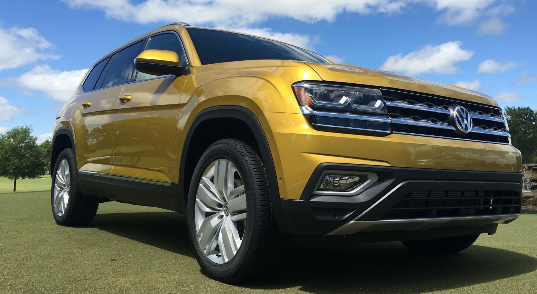 Volkswagen Atlas para cinco pasajeros