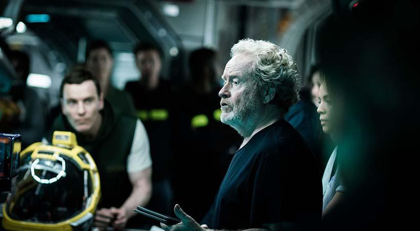 Audi lunar Quattro, debut en la película Alien Covenant