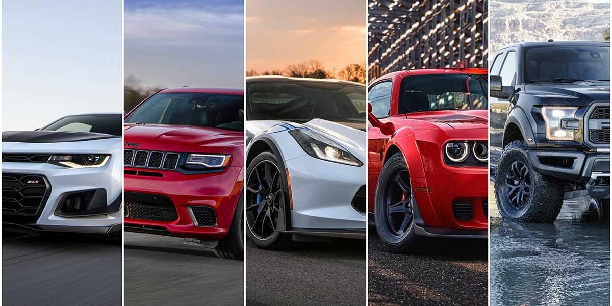 Top 8 Súper Autos Hechos en América