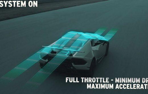 Aerodinamica Lamborghini Attiva