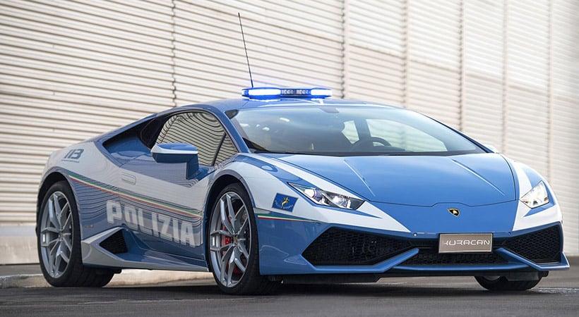 Segundo Huracan Polizia