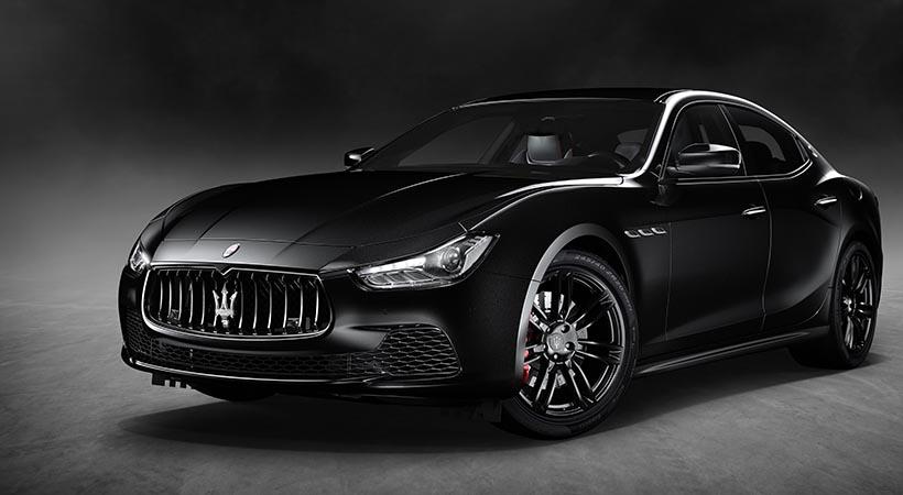Maserati Ghibli Nerissmo