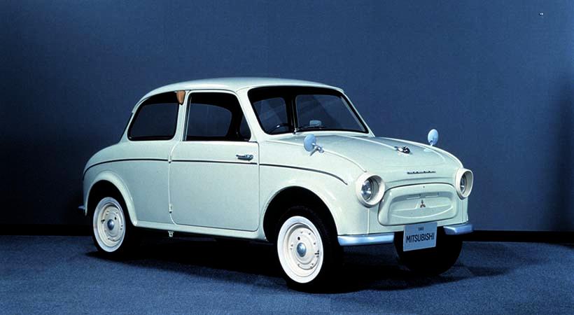 Mitsubishi 500, el comienzo de la era moderna