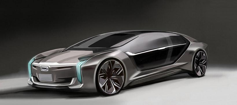 Qoros Model K EV Concept