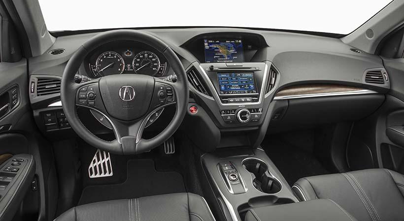 Test Drive Acura MDX Sport Hybrid 2017