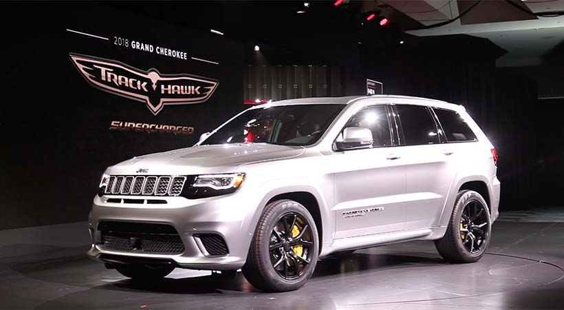 Video Jeep Grand Cherokee Trackhawak 2018