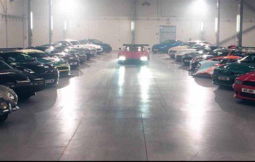 Aston Martin en Gales