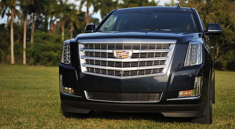 Test Drive Cadillac Escalade Premium Luxury 2017