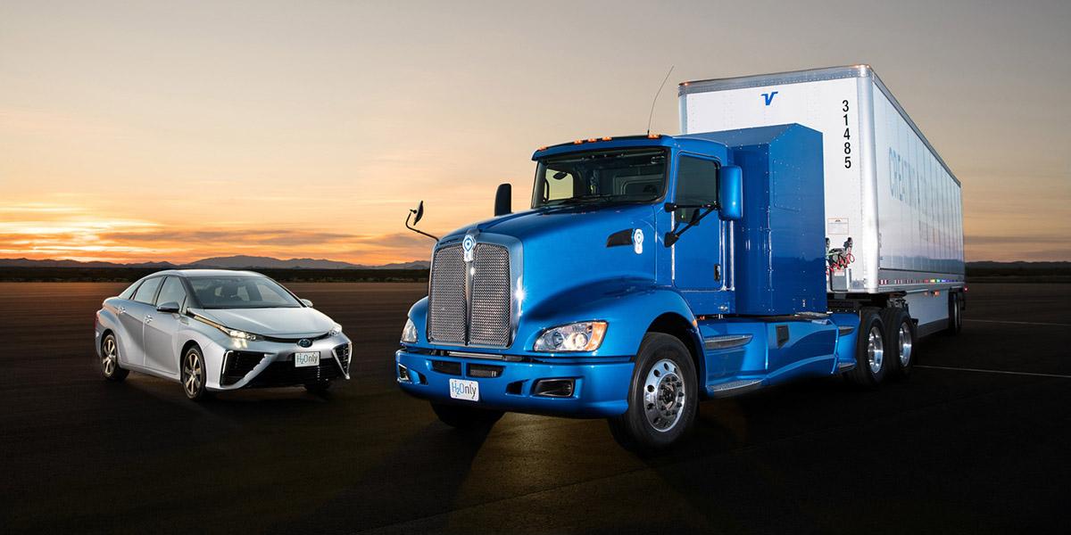 Camión con pila de combustible