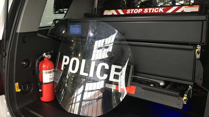 Chevrolet Tahoe 4x4 2017 Police Service Vehicle