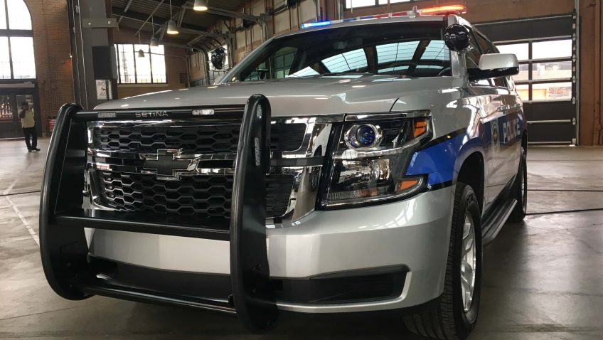 Chevrolet Tahoe 4x4 2017 Police Service Vehicle