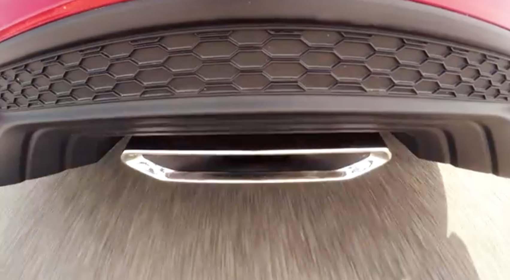 Honda Civic Si debutó en YouTube