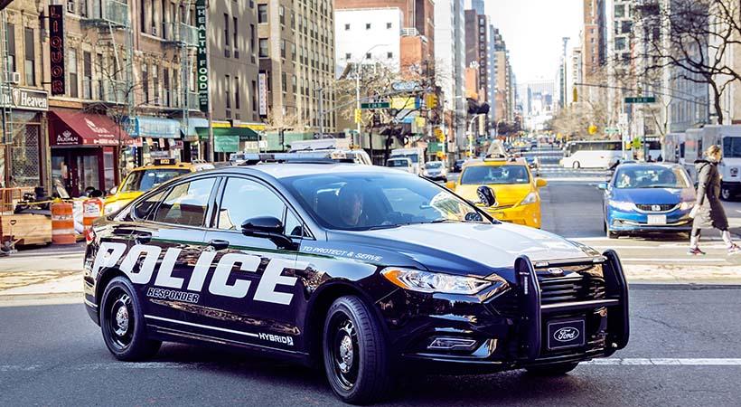 Ford Police Responder Hybrid Sedan, futuro eléctrico hoy