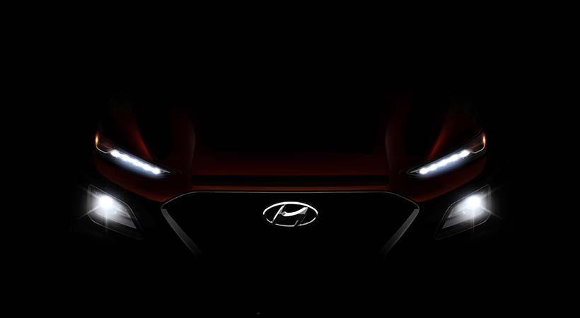 Hyundai KONA, llegará a la producción el próximo verano
